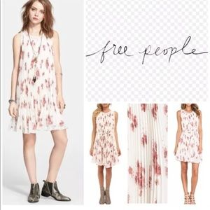 Free People Lace Floral Sleeveless maxi dress Sz S
